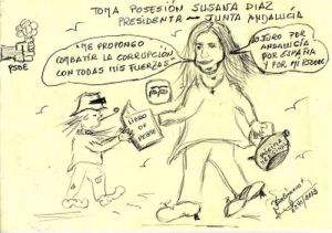 Susana Díaz contra la corrupción,