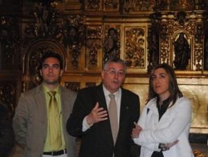 Susana Díaz en la capilla de Los Marineros en la sevillana Triana
