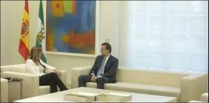 Rajoy musitando con la vagancia que le caracteriza: ¡vaya rollo me está planteando esta novicia!