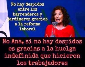 Ana Botella, cada vez que habla, sube el precio del pan