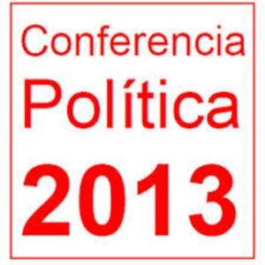 Conferencia política PSOE 2013