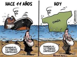 Los hilillos de Rajoy de ayer y de hoy