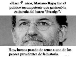 Rajoy: ncompetente e inútil