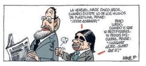"""Aznar ya pensaba """"bien"""" del que fuera su sucesor"""