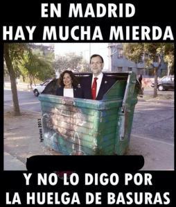 En Madrid, hay algo más sucio que la basura