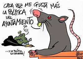 Política de rata, la que hay con la basura en Madrid