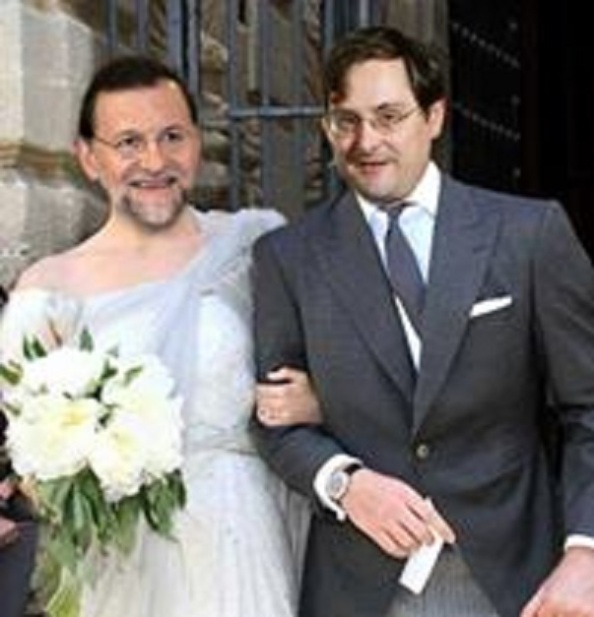 Una boda del año, la de Rajoy con Marhuenda, del diario de La Razón y antiguo alto cargo de su Ministerio en el Gobierno Aznar, que simboliza el control