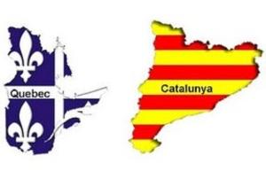 Cataluña y Quebec