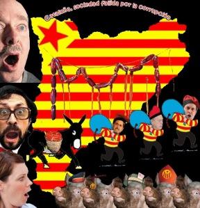 Cataluña, ningún ejemplo de lucha contra la corrupción