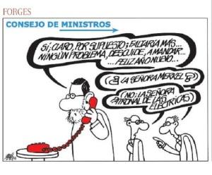 Rajoy, un mandado del lobby de las eléctricas