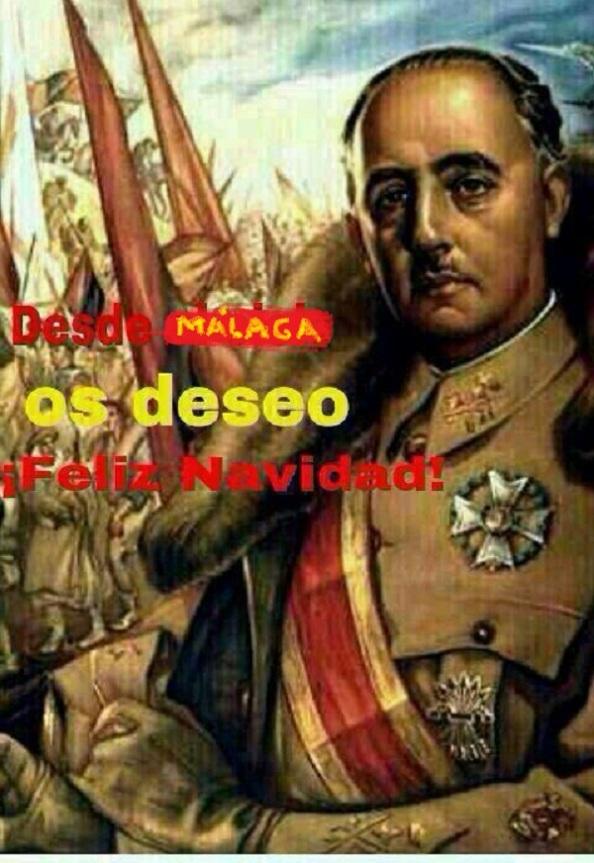 `Franco´ se ha paseado por Málaga para que no lo olvidemos