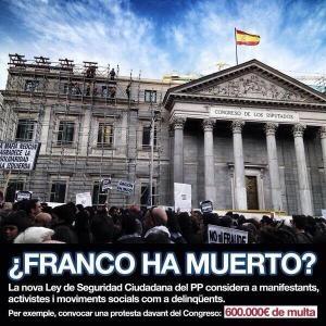 Franco, pareciera para el PP que no ha muerto