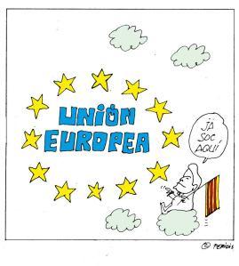 No hay otro trasfondo de la independencia de Cataluña, de intertar con enorme riesgo de quedar excluida, de sumarse a la dinámina insolidaria de la UE Norte-Sur.