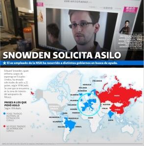 Las peripecias de Edward Snowden por denunciar el espionaje a los derechos más íntimos por parte de EEUU