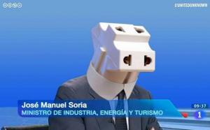 Ministro Soria, de enchufes y ladrones.