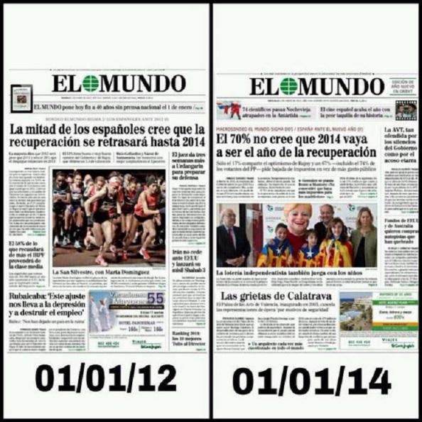 Cada vez, los españoles creen eso de la recuperación económica, manteniéndose la misma política económica