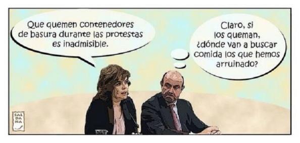 El Gobierno preocupado por la pòbreza. Se olvida de los 36.000 millones de euros condonadas a la banca rescatada.