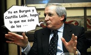 El indultado excarlelado, Méndez Pozo, amo y señor de todo en Burgos y Castilla León.