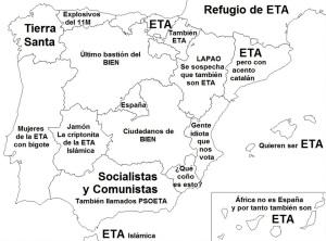 Para el PP, hacer su oposición era ligar todo con ETA