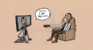 """No """"el trasparente Rajoy, vetando a medios de comunicación españoles en la Casablanca, pudo evitar preguntas sobre Gomeral."""