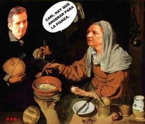 La imputación de la Infanta Cristino, no por esperada, causo el revuelo