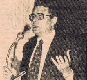 Pedro Aparicio, alcalde socialista de Málaga