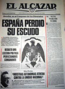 """Diario golpista """"El Alcázar"""""""