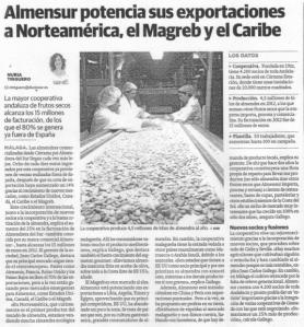 La cooperativa que contribuí a crear, al día de hoy (12.07.2013 en el diario Sur)