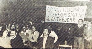 El ambiente de defensa a la Constitución contra el terrorismo y el golpismo, estuvo presente en esa Conferencia