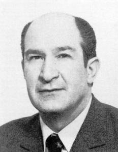 Augusto Unceta, presidente de la Diputación foral de vizcaya que junto a sus dos escoltas de la Guardia Civil fue asesinado por ETA.