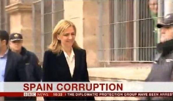 """A los pocos minutos, la BBC lo empezó a dar en sus informativos el titular: """"CORRUPCIÓN DE ESPAÑA""""."""