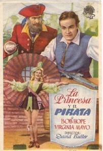 """El cartel de la película """"El Pirata y la Princesa"""""""