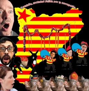 Catalunya, también nación fallida por la corrupción.