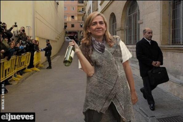 """Propuesta de la acracia de extrema derecha con cóctel Molitov, según """"El Jueves"""""""