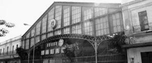 Fachada de la Estación de tren de Málaga
