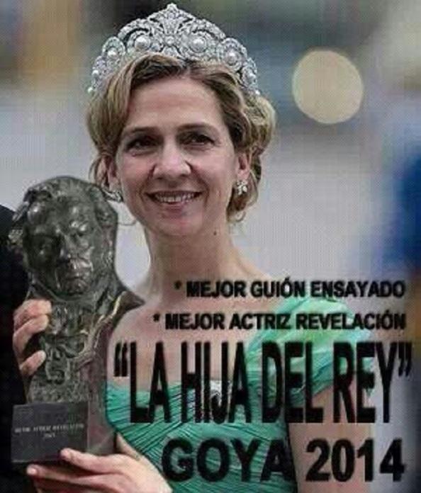 Méritos de la Infanta y sus asesores más que suficientes para que este año le den 2 Goyas.