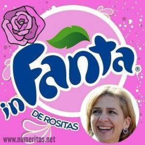 """La Infanta de fue de """"rositas"""" de los juzgados de Palma."""