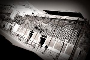 Mercado de Atarazanas de donde partiría la manifestación