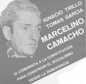 El pluralismo en CCOO era una realidad. Lo pude constatar en mis encuestros con su máximo líder Marcelino Camacho, que compartía el eurocomunismo