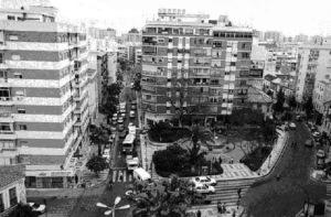 Plaza de Bailen de Málaga