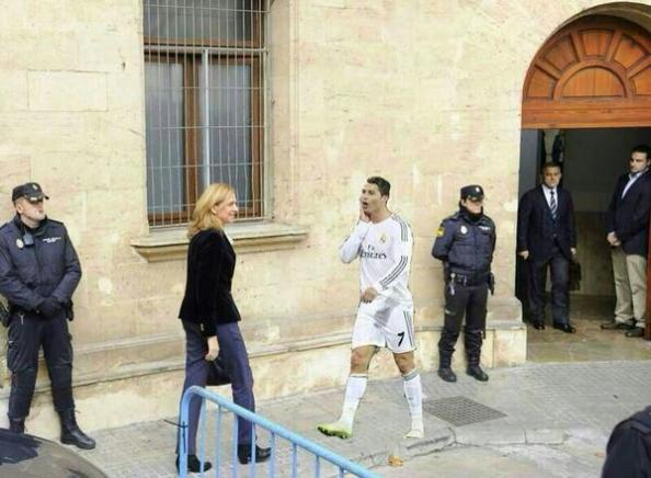 Tampoco se lo oculta un Cristiano Ronaldo a fuer de ganarse otros tantos partidos sin jugar