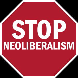 Alto al neoliberalismo, empoderando a la ciudadanía.