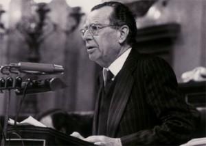Tomás García, diputado del PCE por Málaga