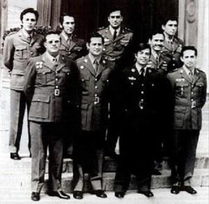 Oficiales militares que fueron detenidos de la UMD