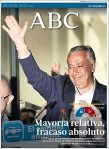 La victoria de Javier Arenas que le sabe a derrota.
