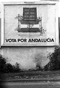 Campaña a favor del voto en el 28F