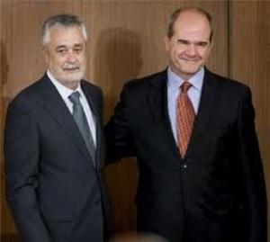 Traspaso de poder de Manuel Chaves a José Antonio Griñán