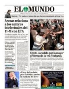 Arenas vuelve, pero con la misma cantinela. No aprende. El 11M fue ETA, lo estuvo diciendo hasta las elecciones de generales de noviembre del 2011.