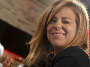 Elena Valenciano guiñando