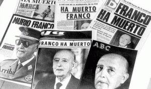 Franco a diferencia de Hitler o de Mussolini, murió en la cama.